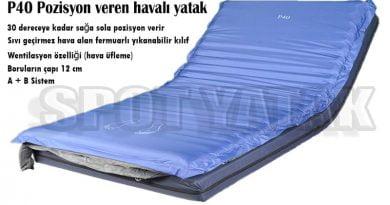 Pozisyon veren havalı yatak P40