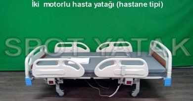 İki motorlu hasta yatağı (full abs)