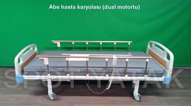 SY 21000 iki motorlu hasta karyolası